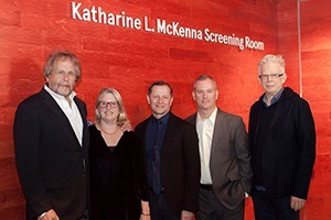 Film/Video Screening Room Named for Katharine McKenna