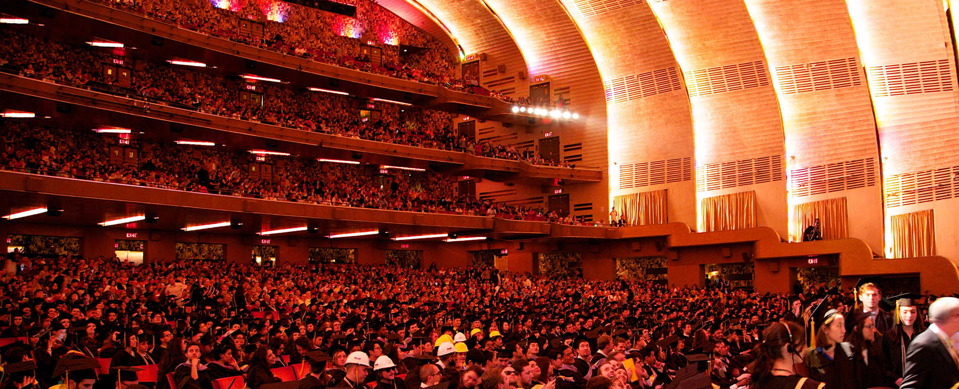 Pratt Institute commencement at Radio City Music Hall