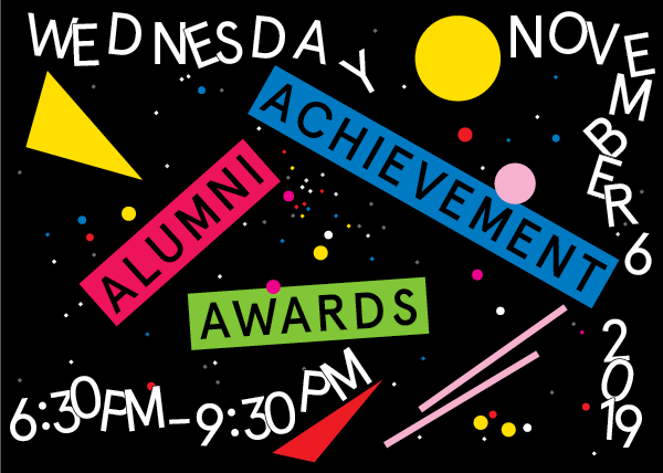 Alumni Achievement Awards 2019 date and time