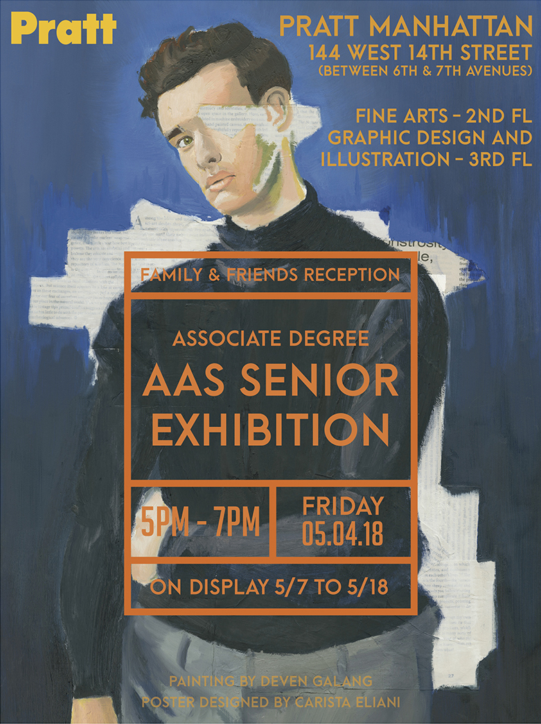 A.A.S. Senior exhibition poster