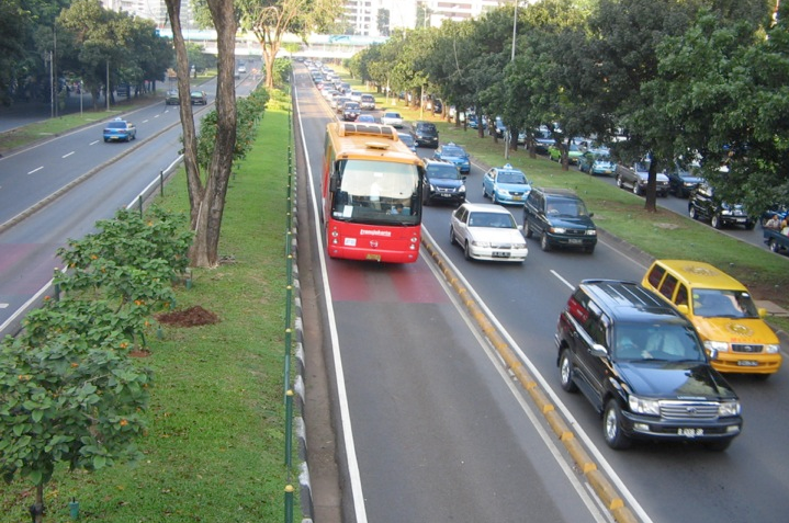 Dedicated, physically protected bus lanes help put the �rapid� in Bus Rapid Transit.