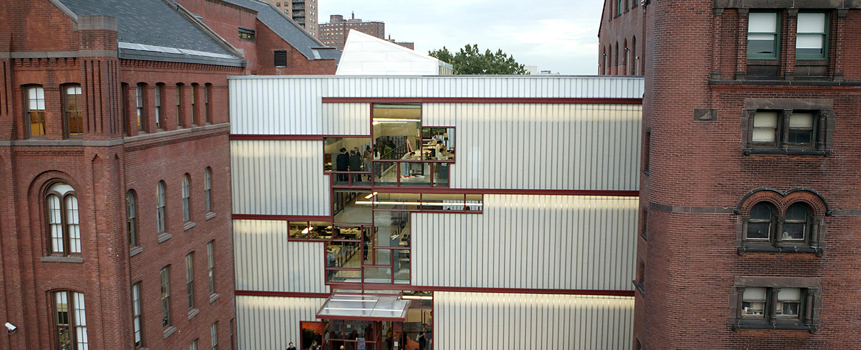 Design building at Pratt campus