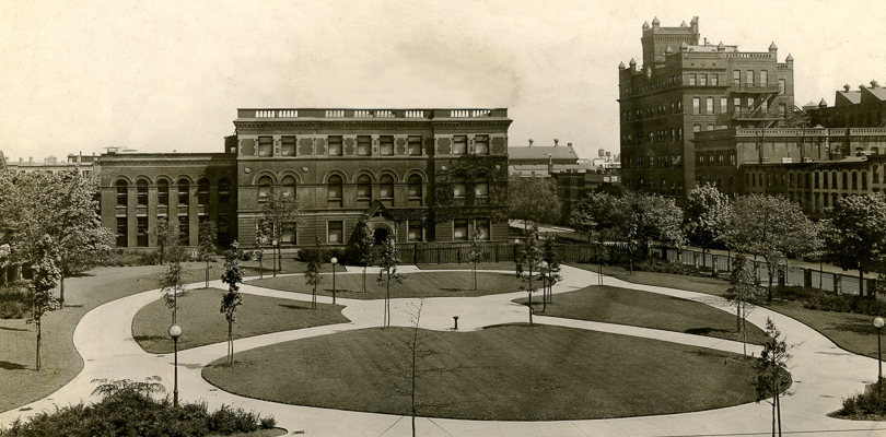 Historical Photograph of Pratt Institute Campus