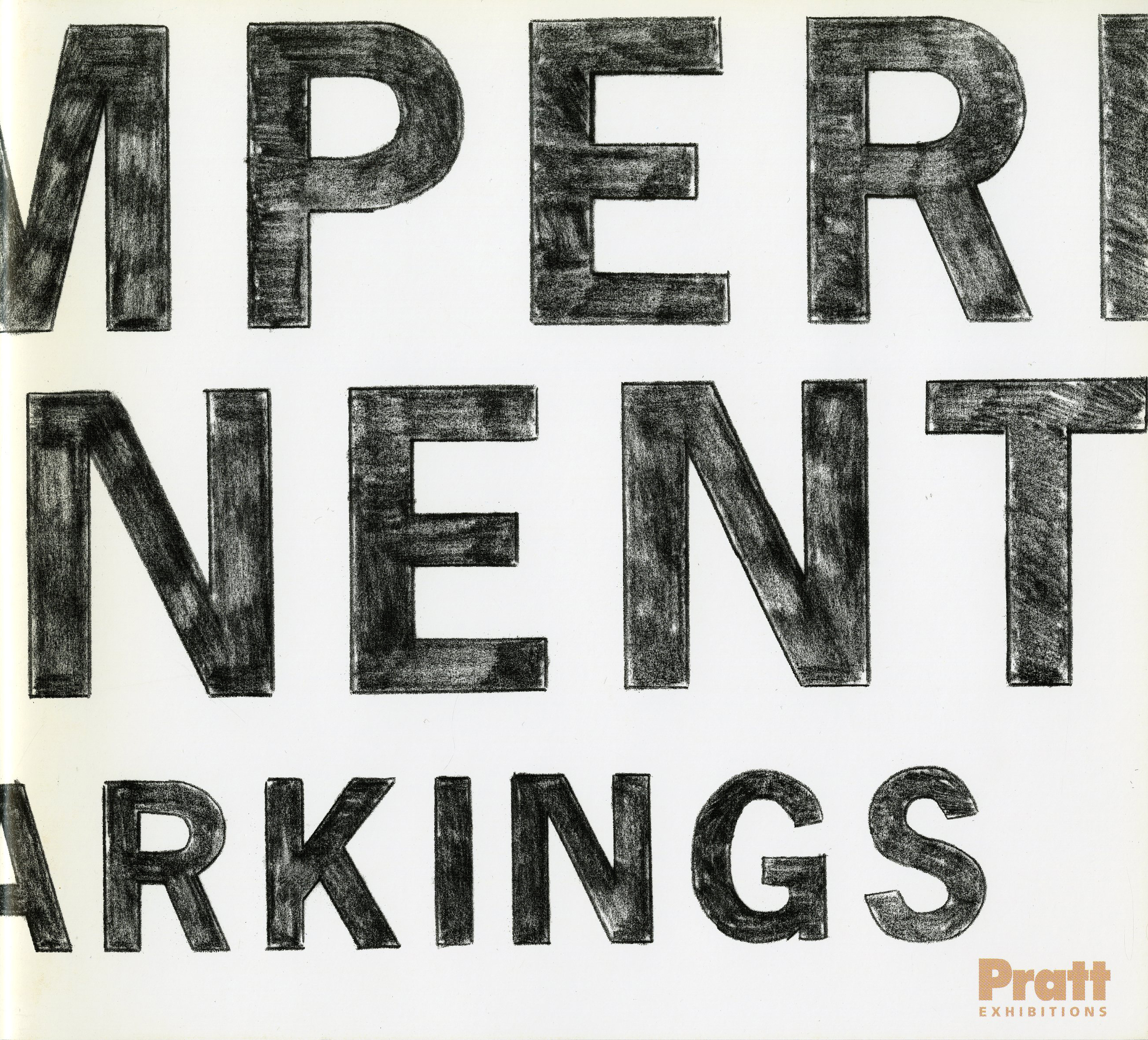 Impermanent Markings catalog cover