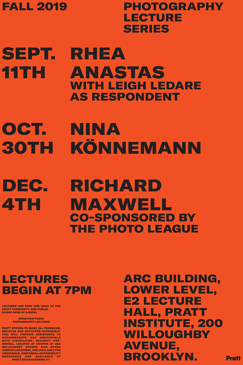 poster for lectures