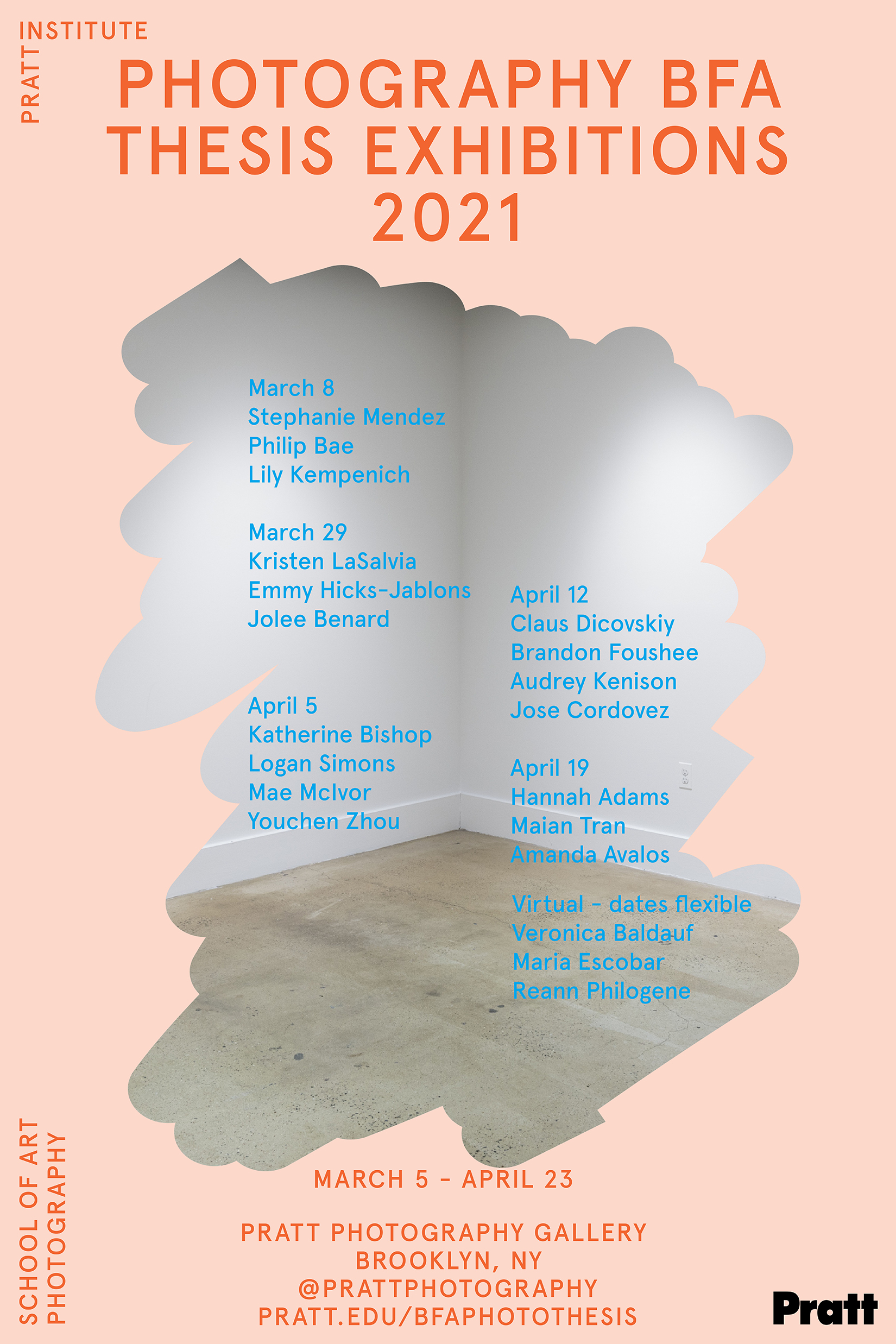 Spring 2020 thesis exhibitions