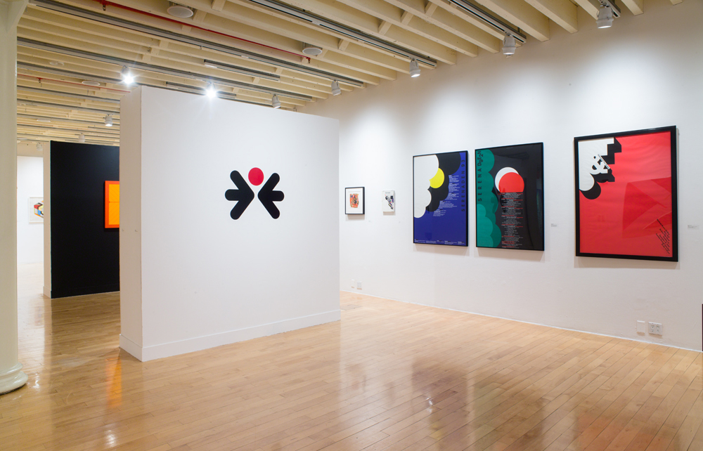 Installation view, Albers, Lustig Cohen, Tissi, 1958-2018, photo by Jason Mandella Photography
