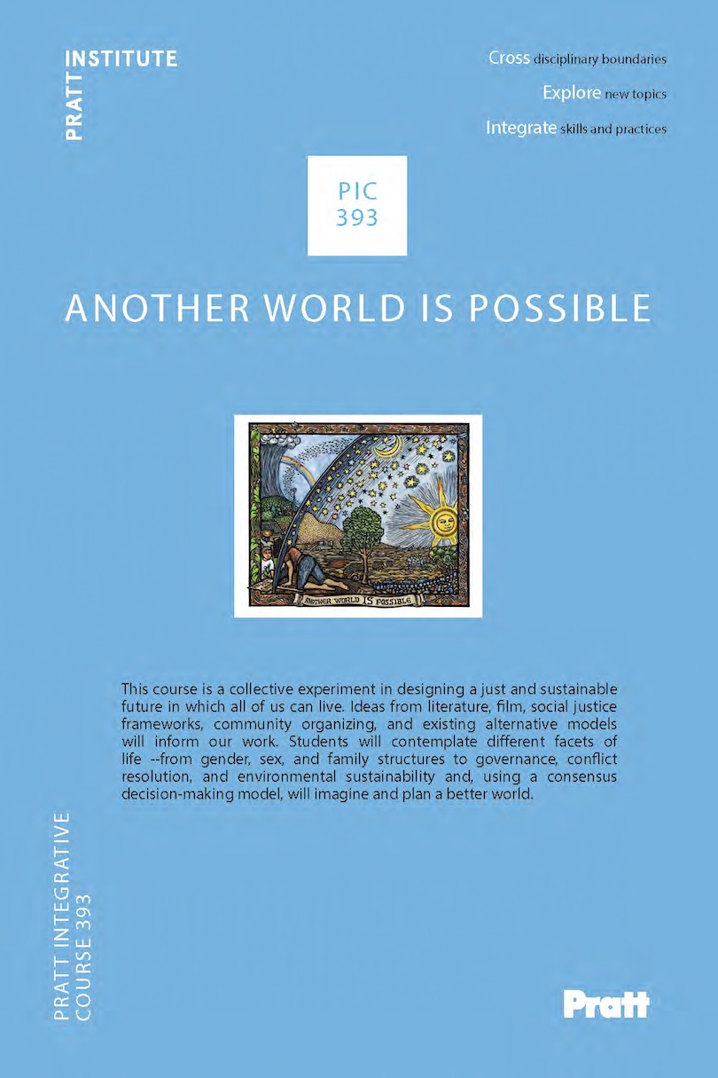 PIC 393 - Another World is Possible poster