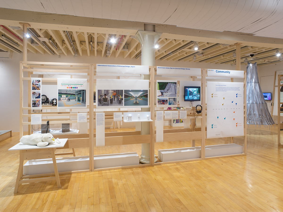 New Old: Designing for Our Future Selves, installation view, photo by Jason Mandella Photography.