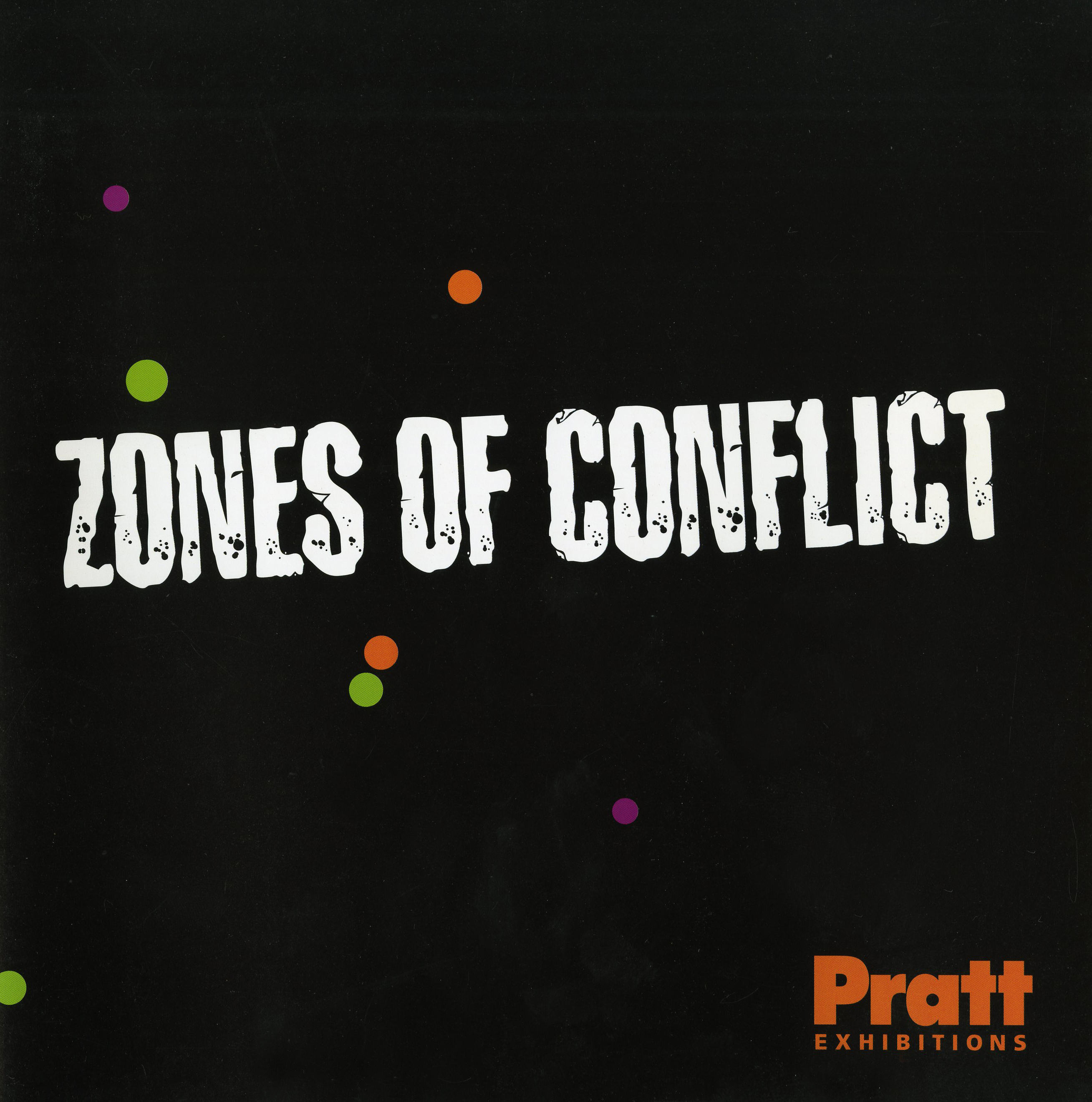 Zones of Conflict catalog cover