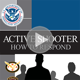 """Active Shooter: How to Respond"" PDF"