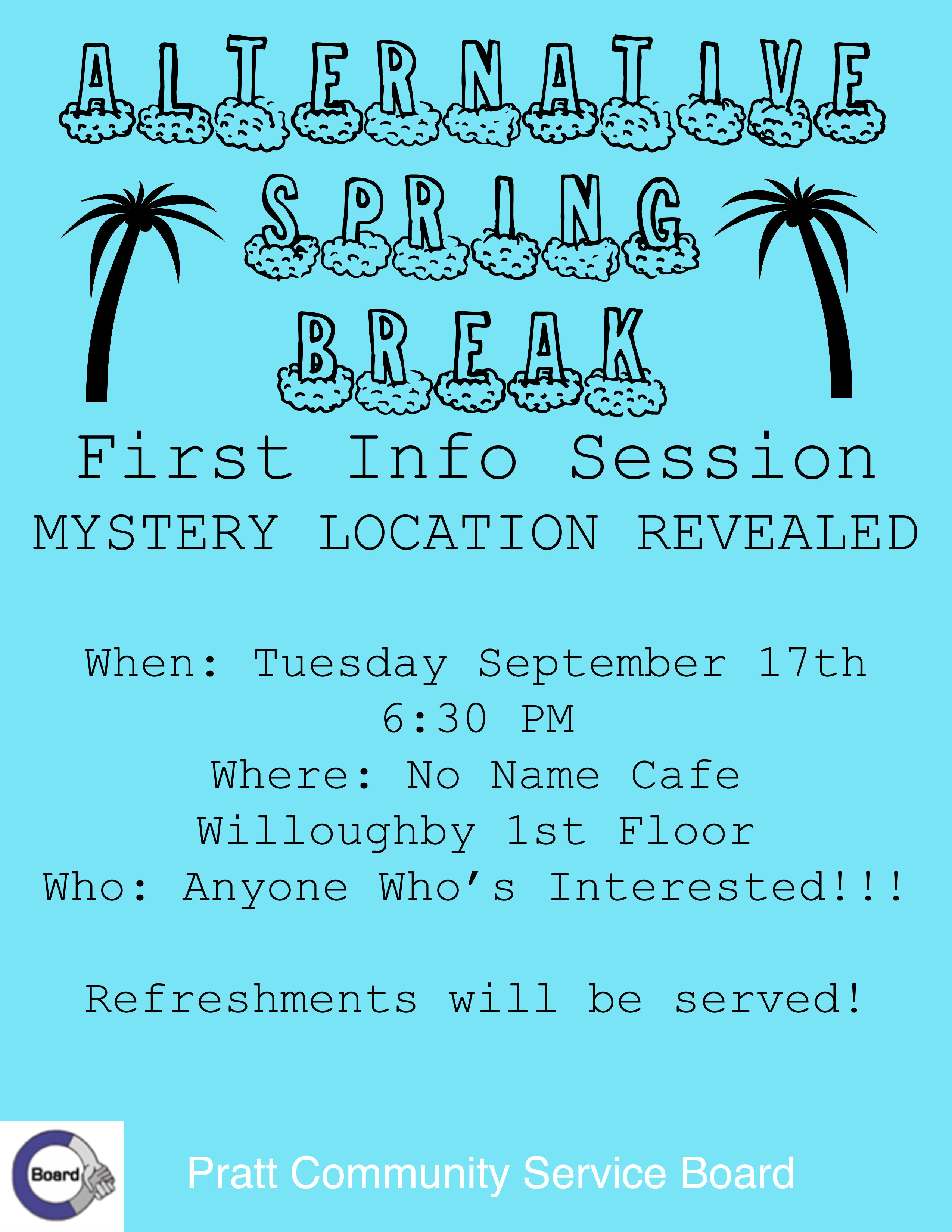 Alternative Spring Break Informational