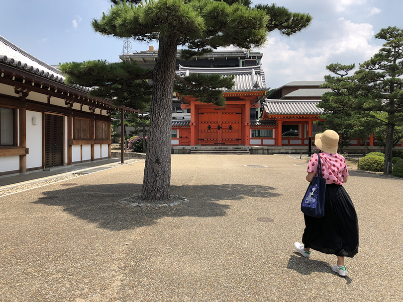 Pratt students explore Ryoanji Temple in Kyoto