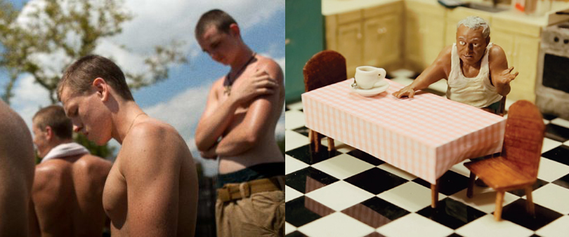 Stills from Beach Rats and Victor and Isolina
