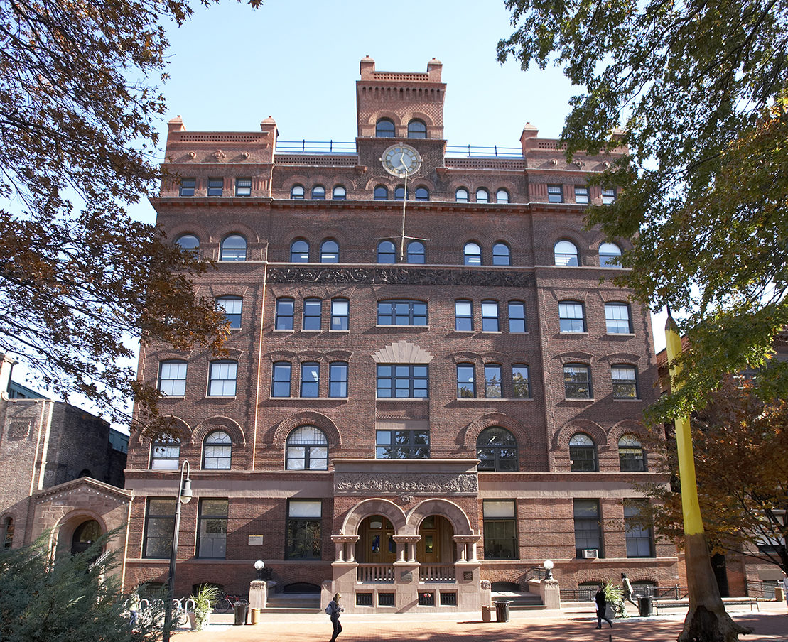 Main Building on Pratt Institute Campus