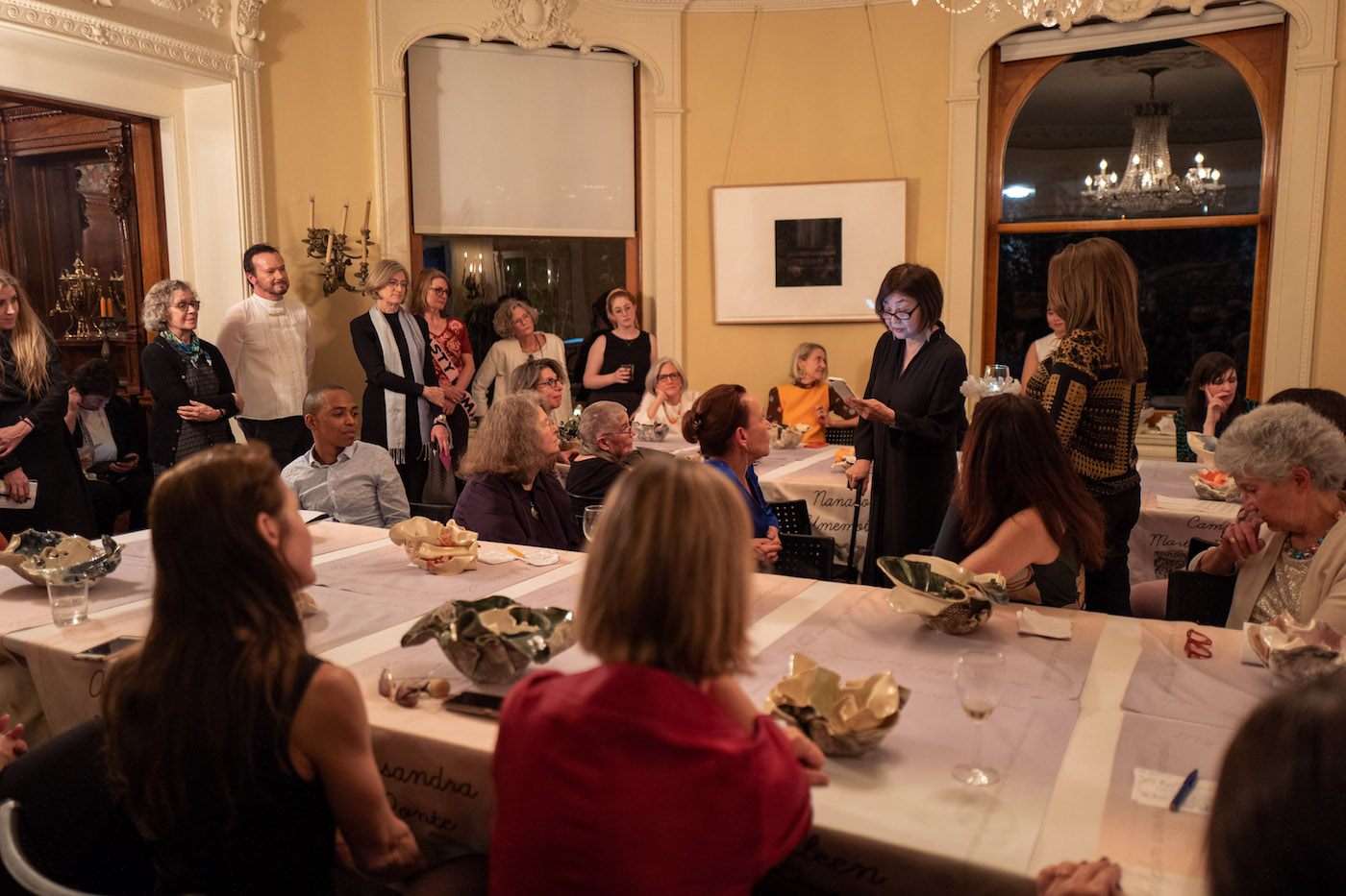 The Mistresses of Pratt Dinner Party (photo by Armon Burton)