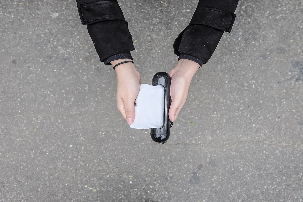 The Porta Paper holder by Philip Thomas