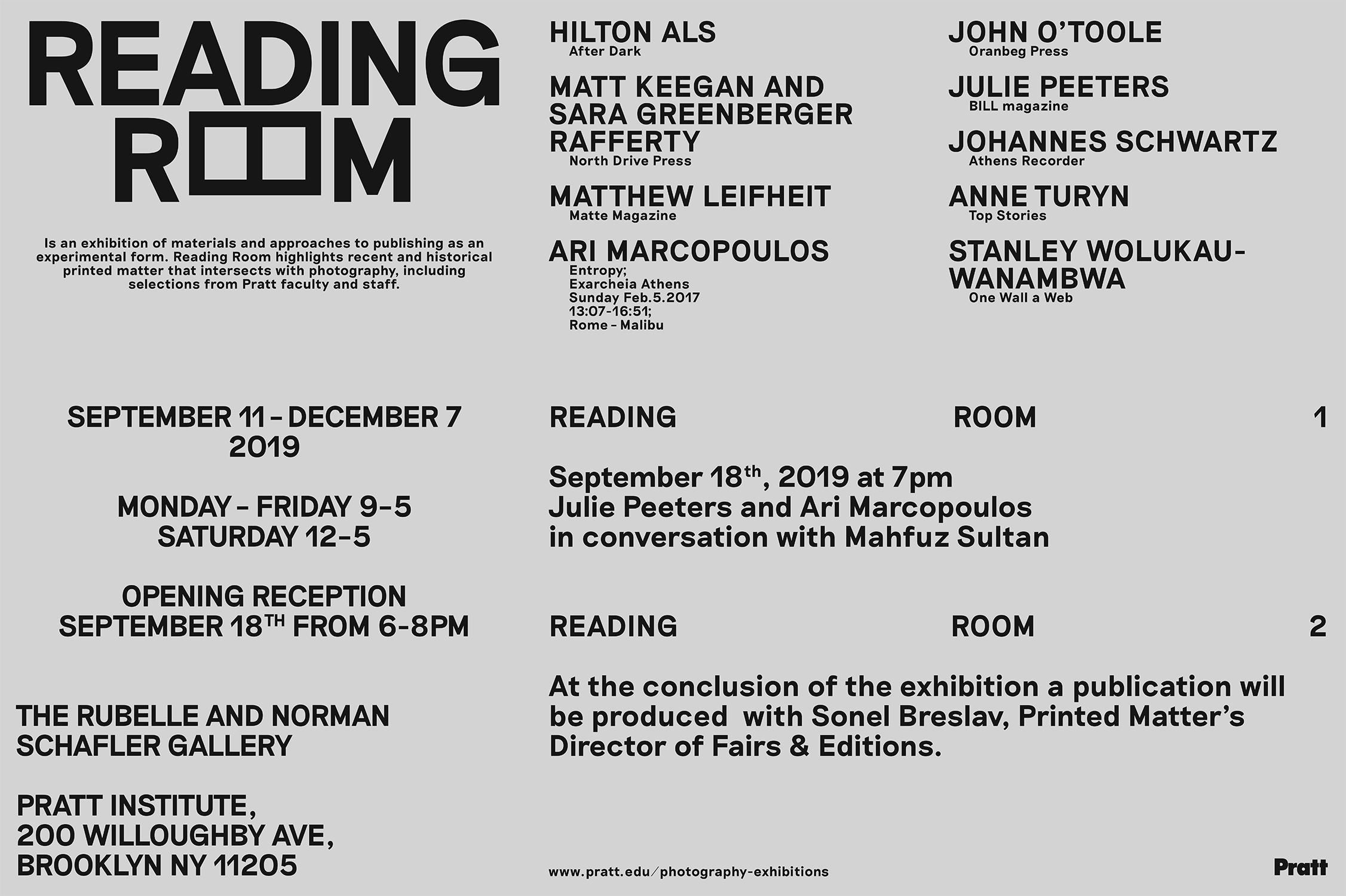 reading room poster