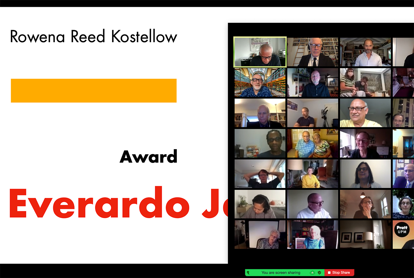 The virtual 2020 Rowena Reed Kostellow Awards