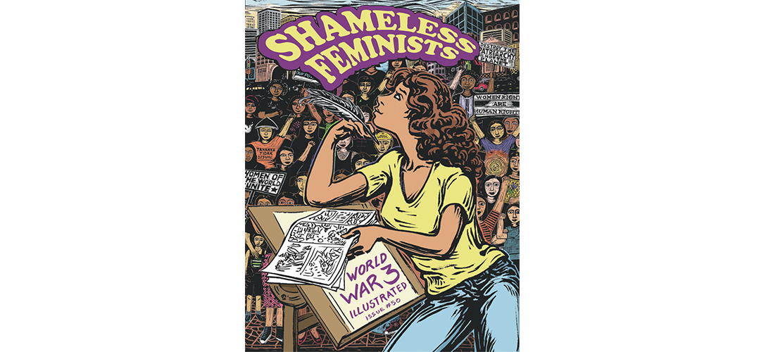 Book cover for Shameless Feminists