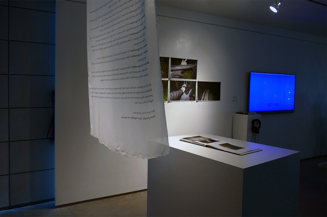 An installation view of Together More Together.
