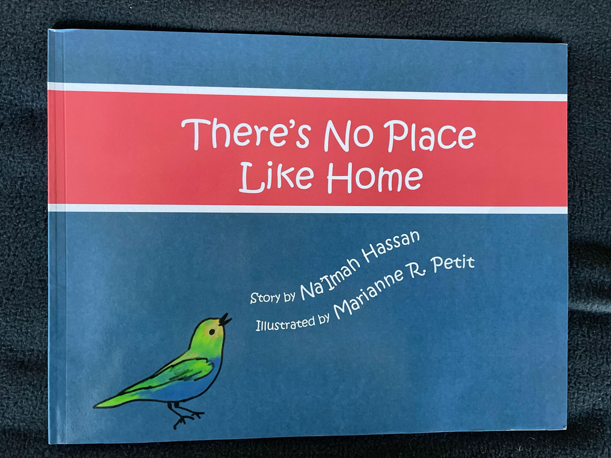 """Book cover of """"There's No Place Like Home"""""""