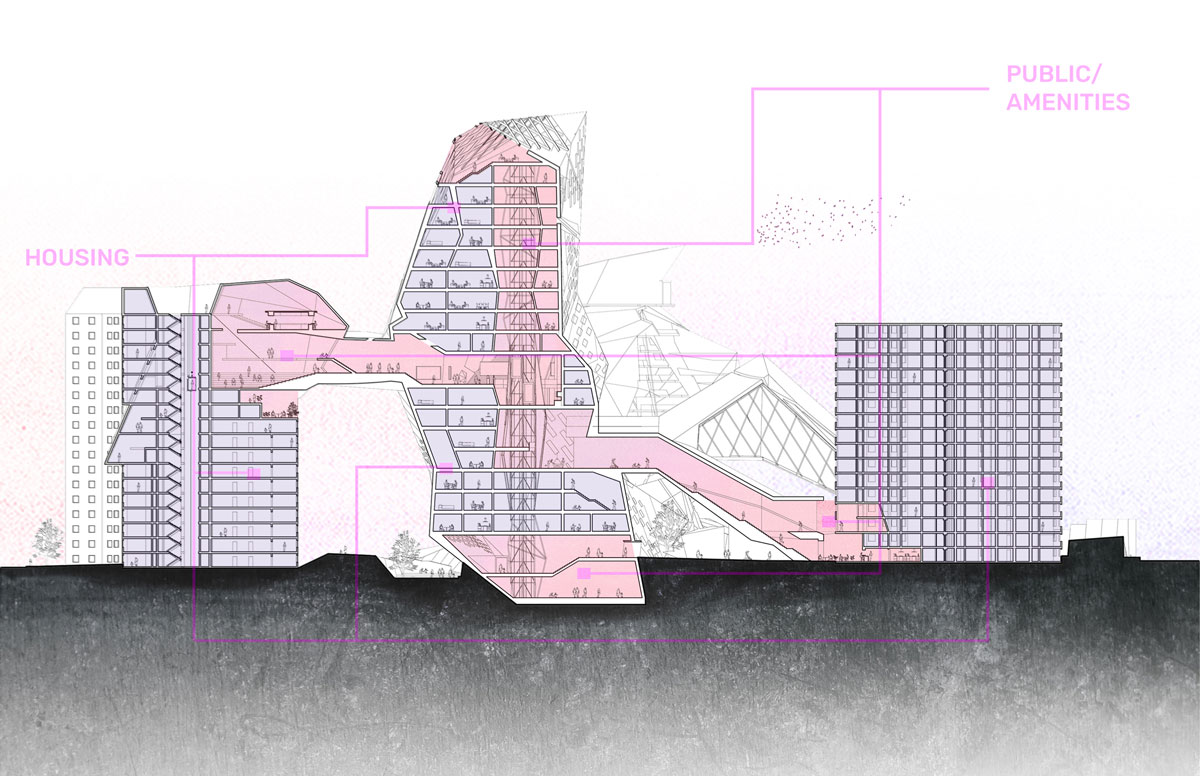 Radical Crystallization section drawing
