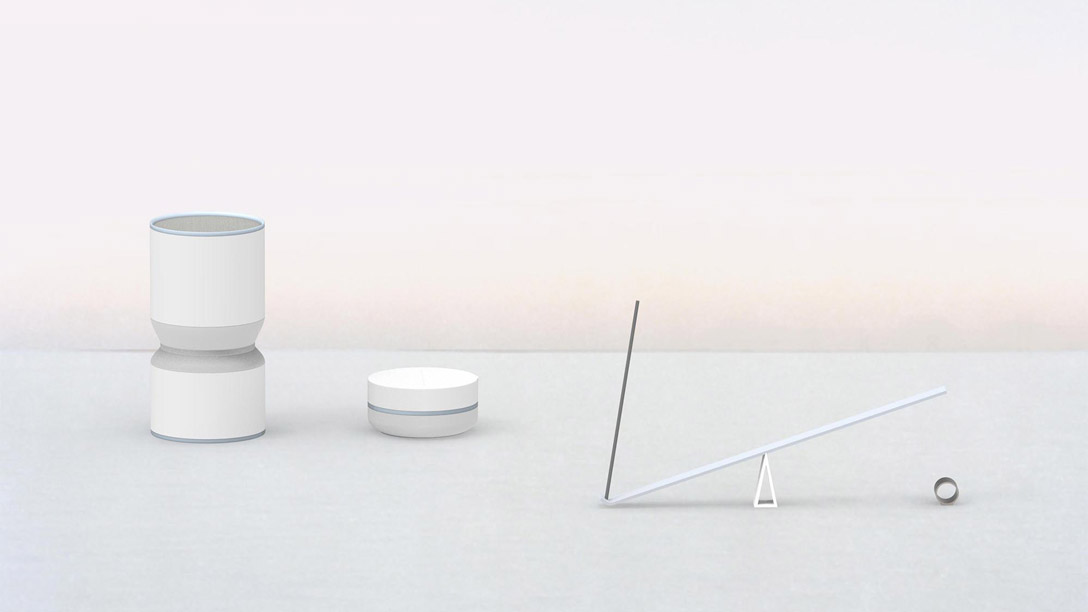 Hourglass, candy dish, and incense burner break timers by Pratt industrial design student Hansol Jung