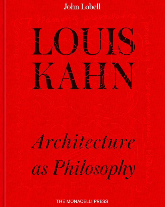 Book cover of Louis Kahn: Architecture as Philosophy