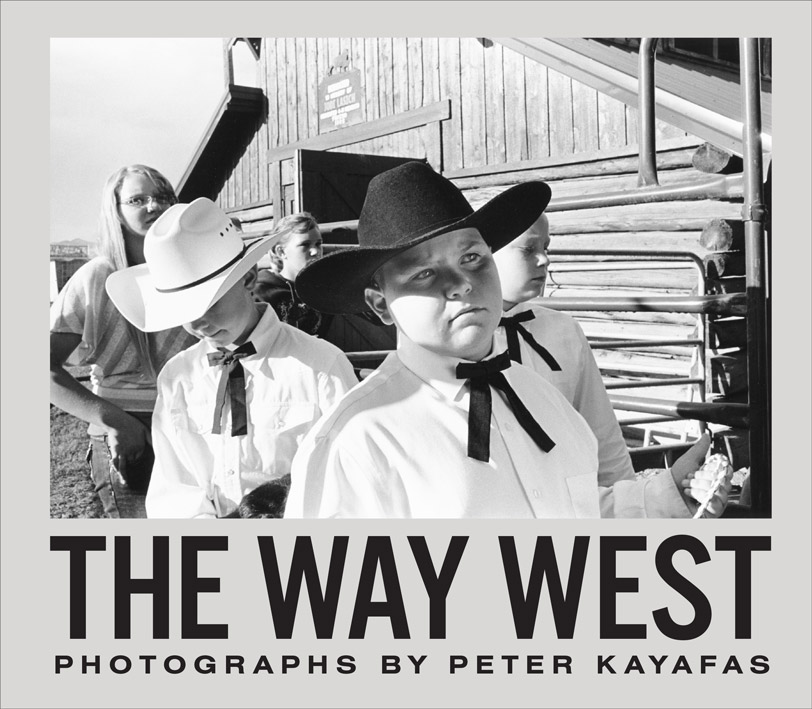 Book cover of Peter Kayafas: The Way West