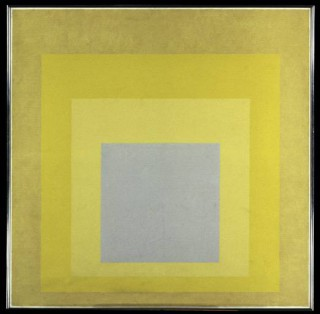 Homage to the Square: With Rays (1959)
