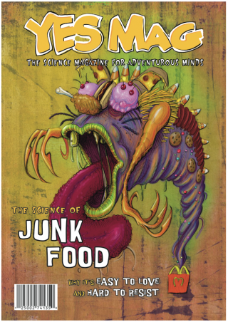 Junk Food Yes Mag Cover