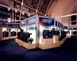 Open House Exhibition System for Sony (1997)