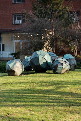 Grace Knowlton - 6 Copper Spheres
