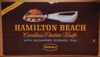Hamilton Beach Cordless Knife (1978)