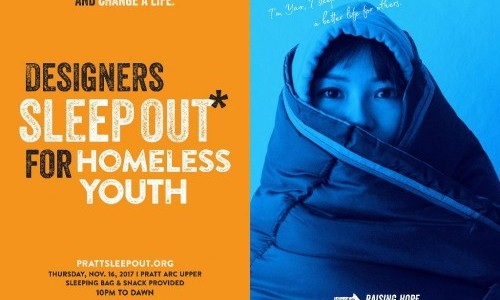 Graduate Communications Design Students Create Multifaceted Campaign to Address Youth Homelessness
