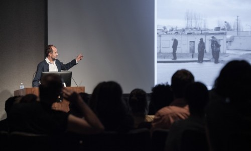 Talk by Curator David Campany Marks Opening of Acclaimed Photography Exhibition on Campus