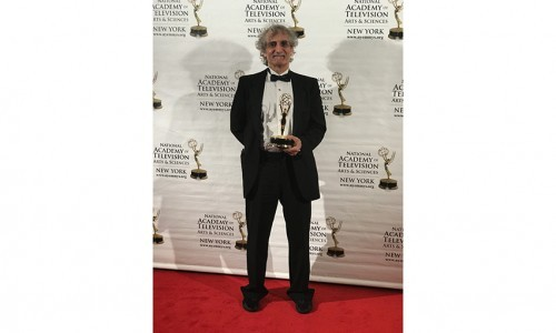 Humanities and Media Studies Professor Steven Doloff Wins Second New York Emmy Award