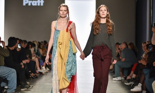 Recent Fashion Design Graduate Features Collection for UK's Graduate Fashion Week