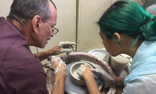 Many Hands: Taconic Fellows Collaborate with a Community to Share Stories in Sound and Clay