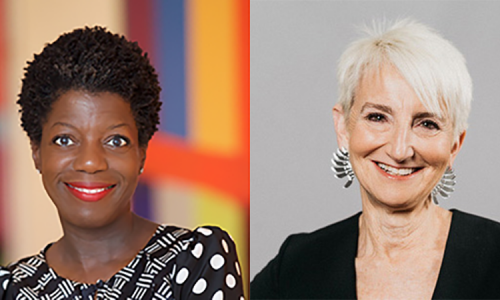 Thelma Golden and President Frances Bronet in Conversation