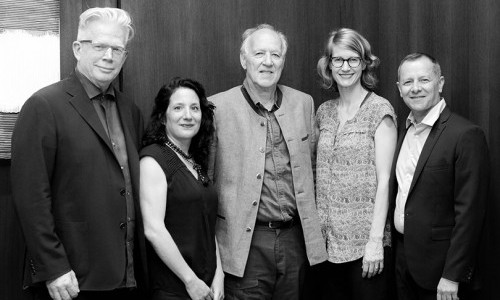 Legendary Filmmaker Werner Herzog Launches School of Art Lecture Series on Two-Day Visit to Pratt