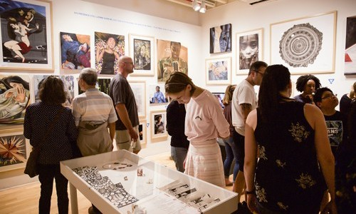 Pratt Manhattan Gallery Exhibition Highlights Scholastic Art & Writing Award Winners