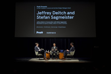 Pratt Presents Series Features Jeffrey Deitch and Stefan Sagmeister in Conversation