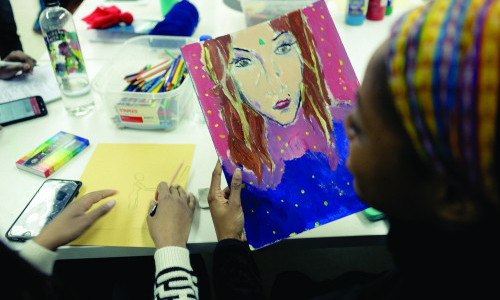 Best Counseling Degrees Ranks Pratt's Art Therapy Program Among Top Five in the Nation