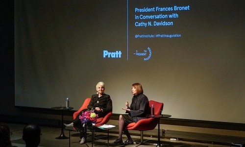 President Bronet and Cathy N. Davidson Explore New Models for Education at Inauguration Event
