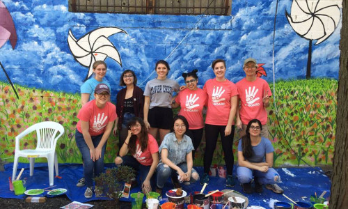 Spring Break: Students Take Deep Dives into Coursework and Volunteering