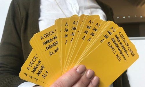 Shuffling the Deck: Students Create Set of Cards to Spark Creativity and New Ways of Thinking