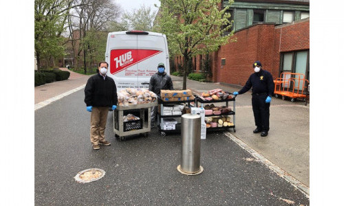 Fighting COVID-19: Pratt Donates Surplus Food & MetroCards to Healthcare Workers & Others in Need