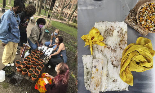 Earth Action Week Unites Cross-Campus Efforts on Climate Change, Industry Inequities, & Sustainable Materials